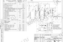 Тепловая схема водогрейной котельной